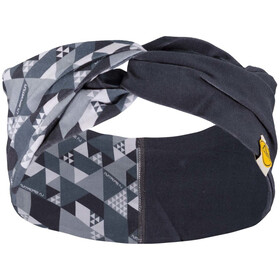 La Sportiva Twist Headband Banda para la Cabeza Mujer, carbon/cloud